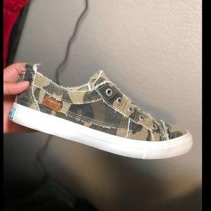 Blowfish camo sneakers
